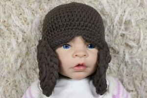 Handmade Knit Crochet Baby Child Kid Hat Cap Beanie Jar Jar Binks Hat Beanie Cap