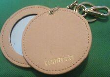 "LAURA MERCIER hidden mirror keyring key chain keychain clip-on 3"""
