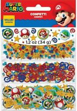 Nintendo Super Mario 3 Park Value Confetti 34g Birthday Party Tableware