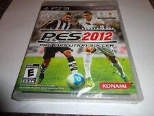 Pro Evolution Soccer 2012  (Sony Playstation 3, 2011) NEW PS3