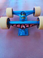 Metal Crazy Trucks Skateboard Whit Urgh Wheels Vintage Old School
