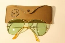 Ray Ban Aviator Changables B&L 12 O´CLOCK ETCHING USA Bausch & Lomb Vintage TOP