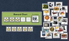 Behaviour Reward Chart - Autism / Aspergers / Sen / Special Needs / Eyfs