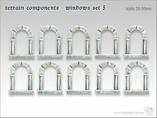 tabletop-art Gelände Bauteile Fenster Set 5 | Bits, Bitz, tabletop