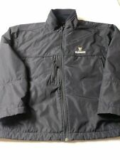 Antigua Guinness Beer Mens Coat Size L Black Softshell Full Zip Polyester
