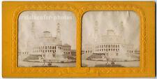 Stereophoto, Stereofoto, transparent, Trocadero, Paris um 1880.