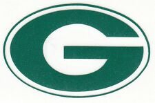 REFLECTIVE Green Bay Packers fire helmet motorcycle hard hat decal sticker yeti