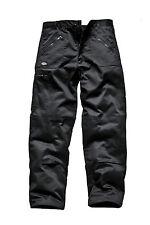Dickies Workwear Wd814 Redhawk MS Action Work Trousers Black 34r