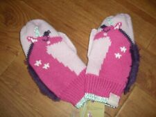 BNWT GIRLS JOULES JIVEY UNICORN MITTENS GLOVES AGE 8-12 Y.GREAT STOCKING FILLER