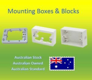 10 Pack Electrical Mounting Blocks and Boxes