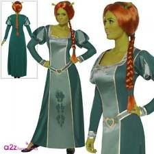 Ladies Princess Fiona Fancy Dress Licensed Costume Film Ogre Shrek Smiffys 39452 M - Medium
