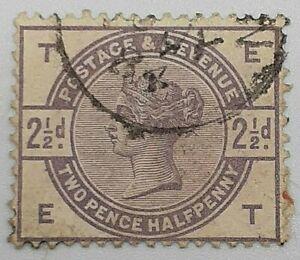GB #101 QV 2.5 Pence Queen Victoria