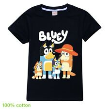 Bingo Bluey Heeler Boys Girls Unisex Kids T Shirt 100% Cotton AU Shop