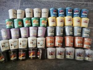 Yankee Candle NEW Bundle x50 Votive Sampler Candles (VARIOUS FRAGRANCES)