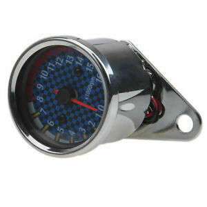 Tachometer LED Backlight 0~16000RPM for Harley Bobber Fatboy Ducati BMW Dyna