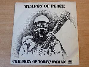 "EX- !! Children Of Today/Weapon Of Peace/1980 Graduate Music 7"" Single/Reggae"