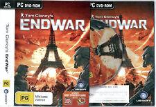 Tom Clancy's EndWar PC Game End War Clancys