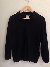 DonnKenny Black Knit Shirt Size L