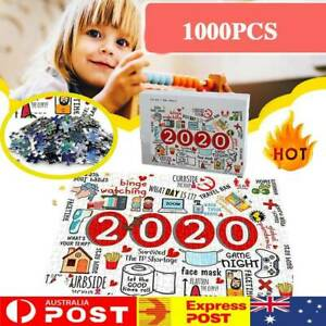 NEW Christmas Jigsaw 2020 Wooden Jigsaws Puzzle Adult Children Toys Family Gifts