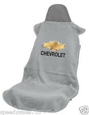 Seat Armour SA100CHVG Grey Chevrolet Seat Cover Bowtie Logo New Free Shipping