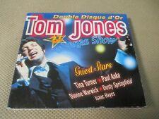 """COFFRET 2 CD DIGIPACK """"TOM JONES : LAS VEGAS SHOW (DOUBLE DISQUE D'OR)"""" 27 titre"""