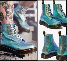Dr. Martens Women's 1460 PASCAL Boot Iridescent Texture Size 7 NIB
