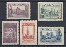 Timbres vignette belgique gand 1913