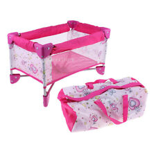 Baby Doll Playpen Bed and Portable Bag Nursery Room Furniture Toys Decor
