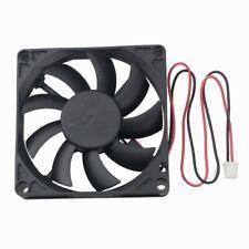 Gdstime 12V 80MM 80X20MM  Brushless PC CPU Computer Case Cooling Fan 2pin 8020