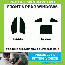 Pre Cut Window Tint - Porsche 911 Carrera Coupe 2012-2016 - Full Kit