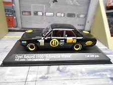 """OPEL Rekord C 1900 #41 Lauda 1969 """" Schwarze Witwe """" Racing 1967 Minichamps 1:43"""