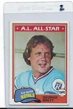 1981 Topps #700 George Brett Kansas City Royals 99 cent S&H
