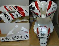 Adesivi moto carene Yamaha R6 racing rossi