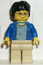 LEGO HARRY POTTER - Harry Potter, Blue Open Shirt Torso, Tan Legs