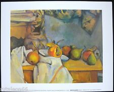 """PAUL CEZANNE """"Natura morta. Ginger pot with pomegranate and pears"""" 24x30cm.31675"""