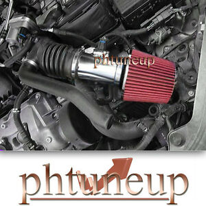 2006-2009 FORD FUSION 3.0 3.0L SE SEL RAM AIR INTAKE KIT SYSTEMS + RED FILTER