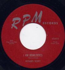 "RICHARD BERRY - ""I AM BEWILDERED"" b/w ""PRETTY BROWN EYES"" on RPM  (VG++)"