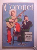 CORONET March 1949 J FREDERICK SMITH JOHN KIERAN ROBERT STANDISH FLORIDA FARMERS