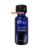 Acid Free UV Gel Primer Bond 0.5oz Nail Tips Soak Off for UV Gel System Manicure