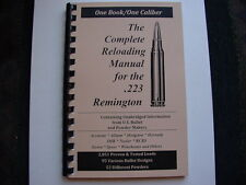 .223 Remington 5.56 The Complete Reloading Manual Load Books Latest Ver.78 Pages