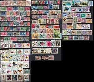 Albanian stamps 1913-1965 5 pages of used stamps, some key values
