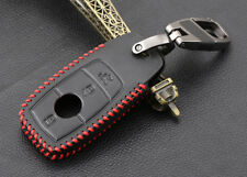 mercedes e class leather keyring