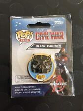 "Funko pop pins marvel ""Black Panther"" Neuf"