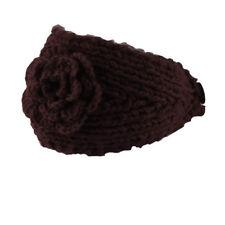 Fashion Women Crochet Headband Knit Flower Hairband Ear Warmer Winter Headwrap