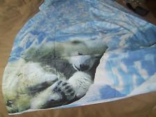 """drap plat """"ours polaire"""" 240 x 300 cm"""