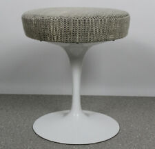 Eero Saarinen Tulip Hocker Wollstoff 60er 70er Design Knoll International