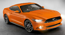 "2015 MUSTANG GT ORANGE  43"" x 24"" LARGE WALL POSTER PRINT NEW..."