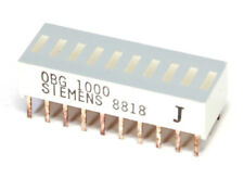 Siemens OBG-1000 LED 10-Element BAR Graph Display Super-Red/BAR Display Red