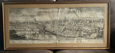 More details for 1734 southwest view of manchester by robert whitworth 126 cm x 48 cm