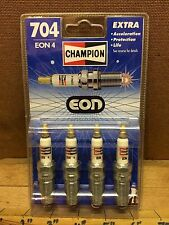 Federal Mogul Champion Extra Eon 4 Spark Plugs 704 Made in UK